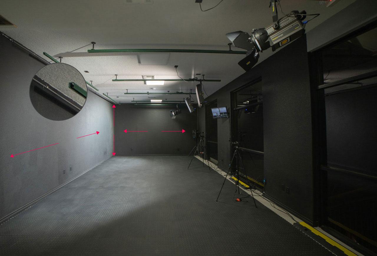 Studio Rental Layout